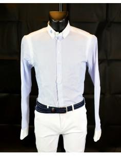 Chic Stripe Shirt Cavalleria Toscana