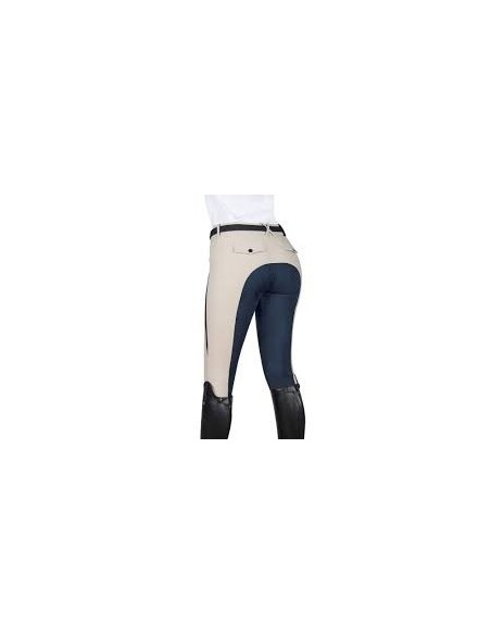 pantalone donna equiline Patricia pelle