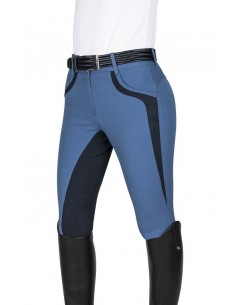 woman breeches Patricia leather