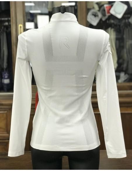 Polo donna  Knit Jacquard Back