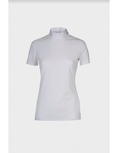 Perforated WaVe Jersey Competition Polo Cavalleria Toscana donna