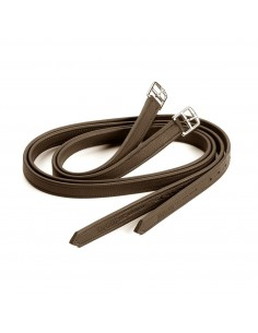 Leather stirrups Equipe Emporio