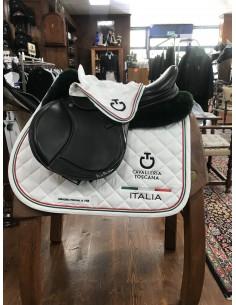 Jumping set Saddle pad + earnet 3 ropes Cavalleria Toscana