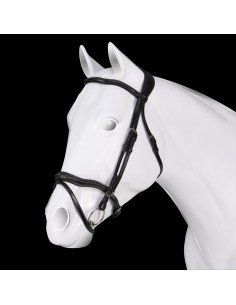 Leather bridle ACAVALLO mod. Fancy Stitching
