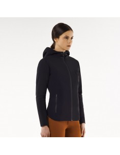 Cavalleria Toscana Jersey Hooded Zip woman