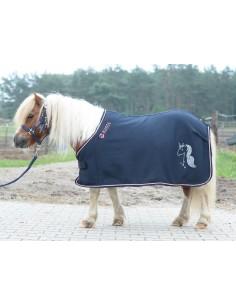 Plaid horse rug Cooler Basic Busse Kid Collection