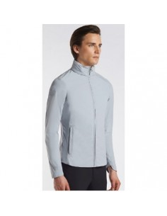 Waterproof man jacket Nylon Cavalleria Toscana Back Bib