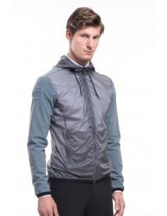 Waterproof man jacket Cavalleria Toscana Shadow Nylon