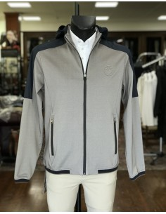 Man Jacket Cavalleria Toscana Piquet/nylon softsheel