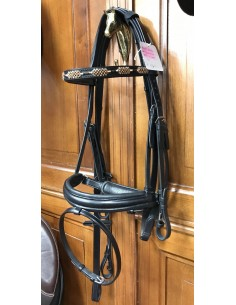 Craft Equipe bridle with hand made browband