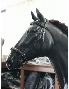 Equiline bridle stock sewing noseband