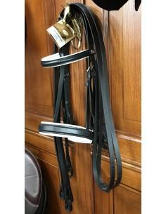 Double bridle Stubben with reins