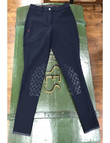 DEGRADÈ PERFORATED SWIPE BREECHES...