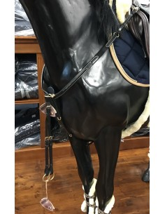 DYON Y SHAPED FANCY BREASTPLATE WITH MARTINGALE