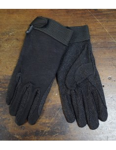 Riding gloves in cotton