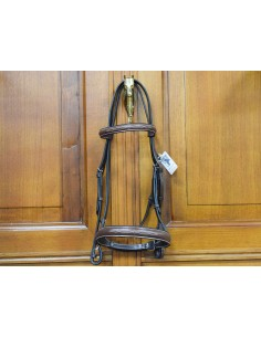 BRIDLE STOCK WITH EMBROIDERY
