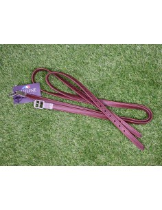 EQUILINE LEATHER STIRRUP BROWN