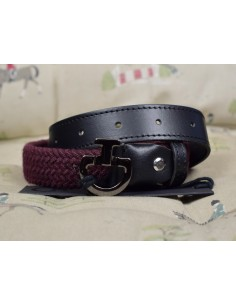 BELT CT YOUG RIDER BURGUNDY