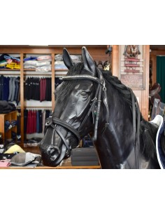 BRIDLE EQUILINE WITH CRYSTALS