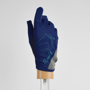 BLUE ROECKL TRYON GLOVES