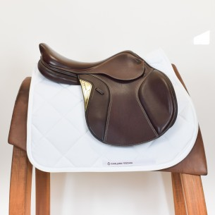 SADDLE EQUILINE BROWN MARGHE